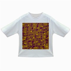 Brown and purple Infant/Toddler T-Shirts