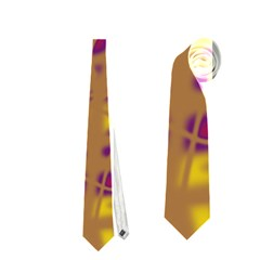 Brown and purple Neckties (Two Side)