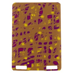 Brown and purple Kindle Touch 3G