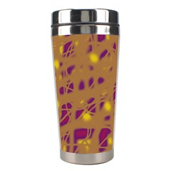 Brown and purple Stainless Steel Travel Tumblers