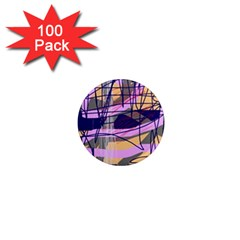 Abstract high art by Moma 1  Mini Magnets (100 pack)