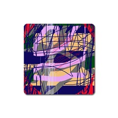 Abstract high art by Moma Square Magnet