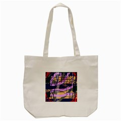Abstract high art by Moma Tote Bag (Cream)