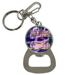 Abstract high art by Moma Bottle Opener Key Chains