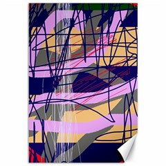 Abstract high art by Moma Canvas 12  x 18