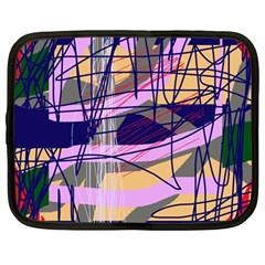 Abstract high art by Moma Netbook Case (Large)