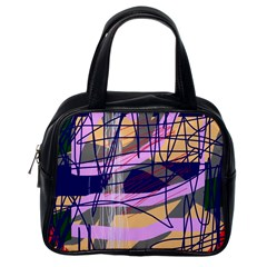 Abstract high art by Moma Classic Handbags (One Side)