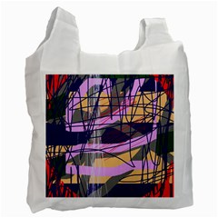 Abstract high art by Moma Recycle Bag (Two Side)