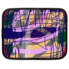 Abstract high art by Moma Netbook Case (XXL)