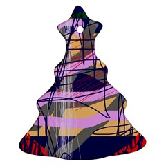 Abstract high art by Moma Ornament (Christmas Tree)