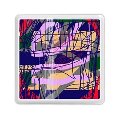 Abstract high art by Moma Memory Card Reader (Square)