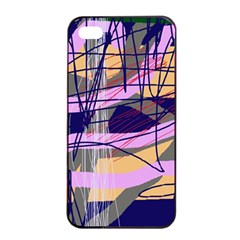 Abstract high art by Moma Apple iPhone 4/4s Seamless Case (Black)