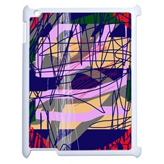 Abstract high art by Moma Apple iPad 2 Case (White)