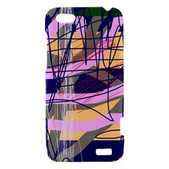 Abstract high art by Moma HTC One V Hardshell Case