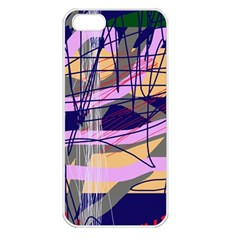 Abstract high art by Moma Apple iPhone 5 Seamless Case (White)