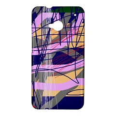 Abstract high art by Moma HTC One M7 Hardshell Case