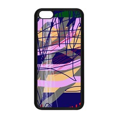 Abstract high art by Moma Apple iPhone 5C Seamless Case (Black)