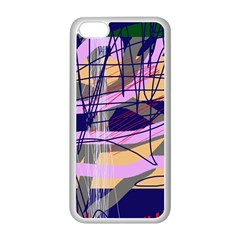 Abstract high art by Moma Apple iPhone 5C Seamless Case (White)