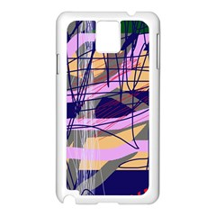 Abstract high art by Moma Samsung Galaxy Note 3 N9005 Case (White)