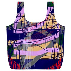 Abstract high art by Moma Full Print Recycle Bags (L)