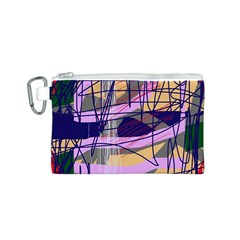 Abstract high art by Moma Canvas Cosmetic Bag (S)