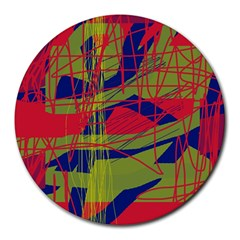 High art by Moma Round Mousepads