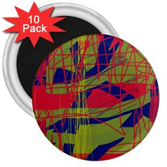 High art by Moma 3  Magnets (10 pack)