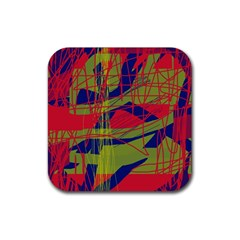 High art by Moma Rubber Coaster (Square)