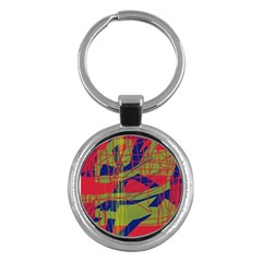 High art by Moma Key Chains (Round)
