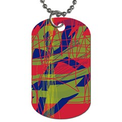 High art by Moma Dog Tag (One Side)