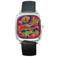 High art by Moma Square Metal Watch