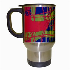 High art by Moma Travel Mugs (White)