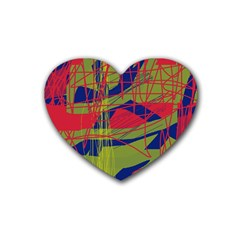 High art by Moma Heart Coaster (4 pack)