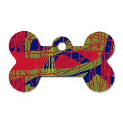 High art by Moma Dog Tag Bone (Two Sides)