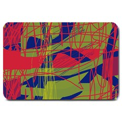 High art by Moma Large Doormat