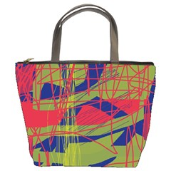 High art by Moma Bucket Bags