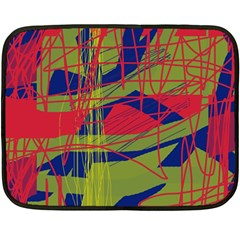 High art by Moma Double Sided Fleece Blanket (Mini)