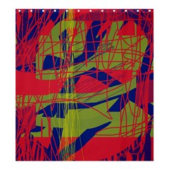 High art by Moma Shower Curtain 66  x 72  (Large)