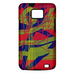 High art by Moma Samsung Galaxy S II i9100 Hardshell Case (PC+Silicone)