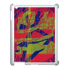High art by Moma Apple iPad 3/4 Case (White)
