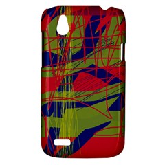 High art by Moma HTC Desire V (T328W) Hardshell Case