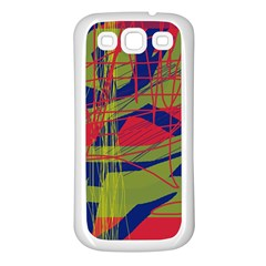 High art by Moma Samsung Galaxy S3 Back Case (White)