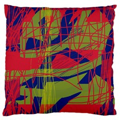 High art by Moma Large Flano Cushion Case (One Side)