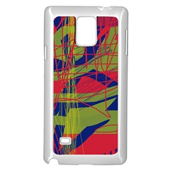 High art by Moma Samsung Galaxy Note 4 Case (White)