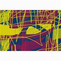 Yellow high art abstraction Collage Prints