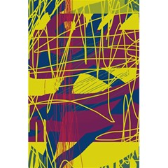 Yellow high art abstraction 5.5  x 8.5  Notebooks