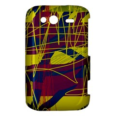 Yellow high art abstraction HTC Wildfire S A510e Hardshell Case