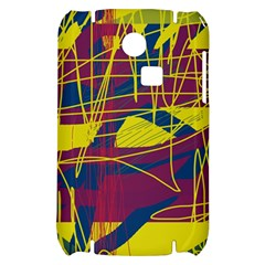Yellow high art abstraction Samsung S3350 Hardshell Case