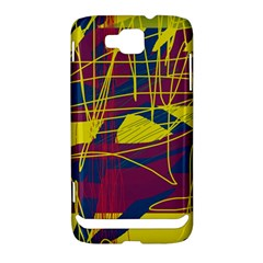 Yellow high art abstraction Samsung Ativ S i8750 Hardshell Case