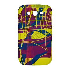 Yellow high art abstraction Samsung Galaxy Grand DUOS I9082 Hardshell Case